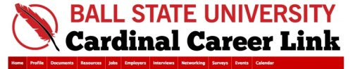 Image result for ball state cardinal career link