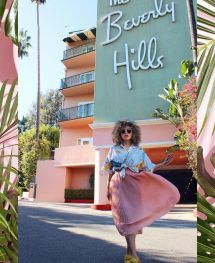 The Pink Hotel Beverly Hills