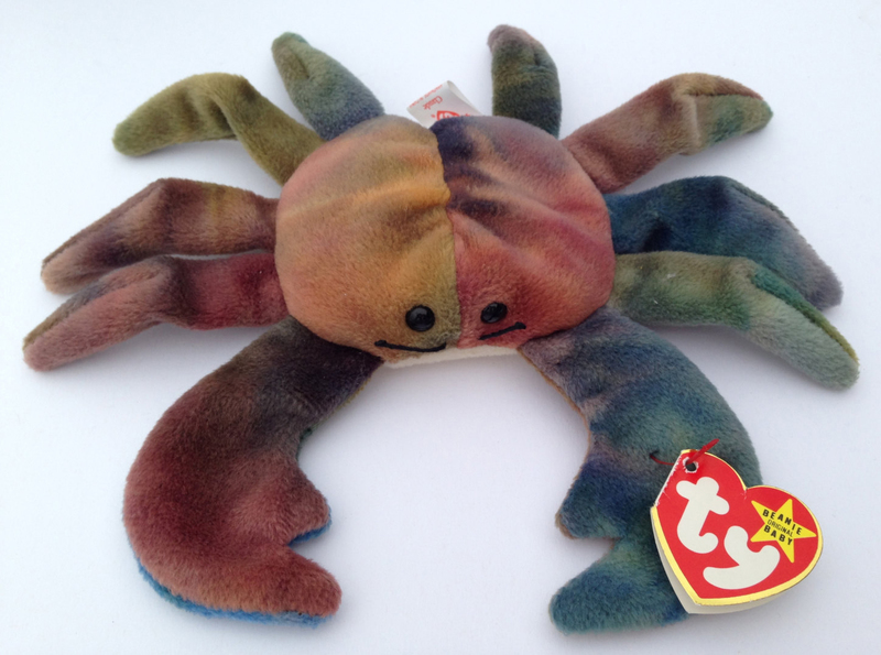 Claude the tie-dyed crab was produced on May 11 b09420ab137