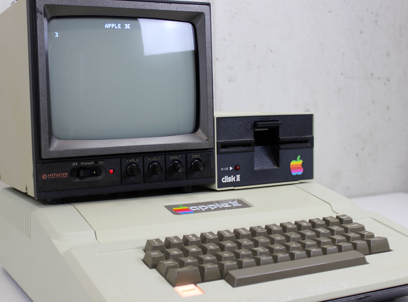 apple II computer disk II 1977