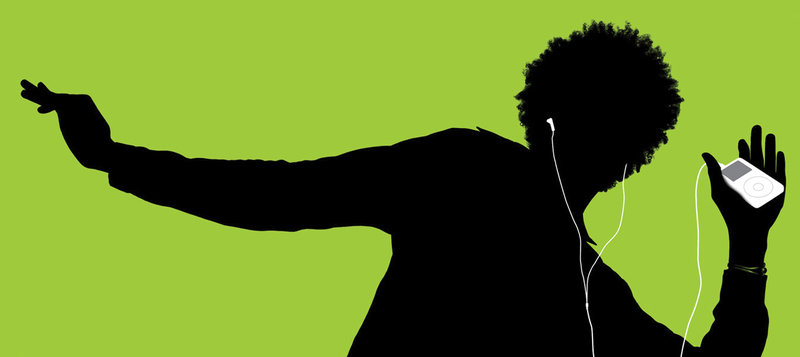 apple ipod generation 1 ad silhouette