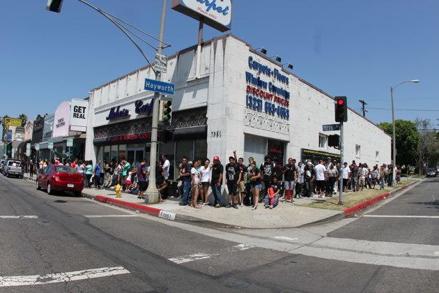 Johnny Cupcakes LA Line