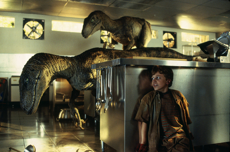 Jurassic Park kitchen scene