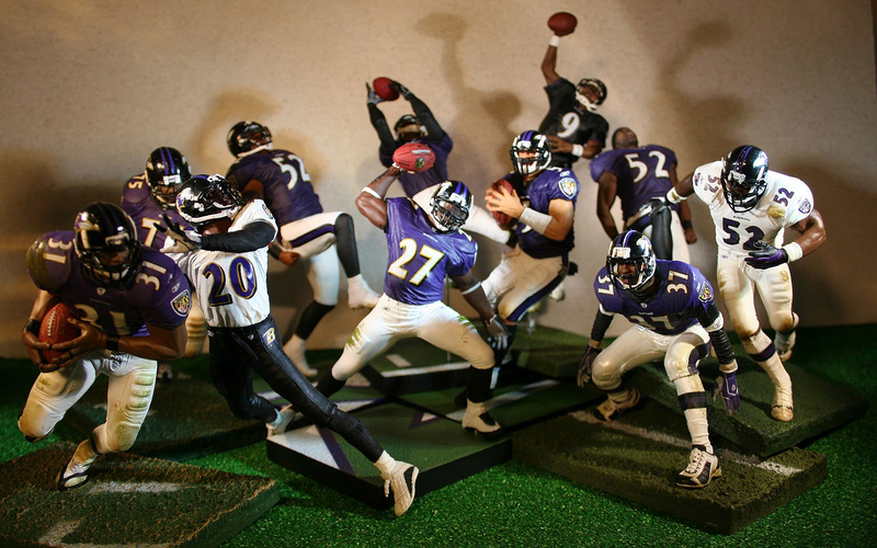 NFL Action Figures Can Kick Off Your Football Collection  CompleteSet