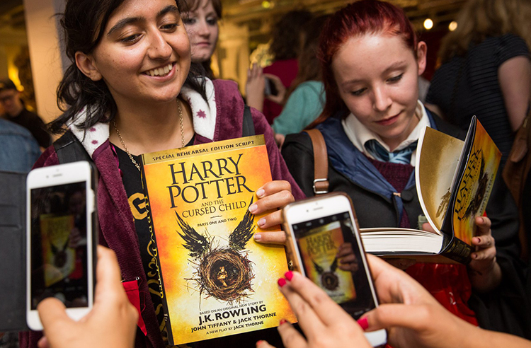 Harry Potter and the Cursed Child release