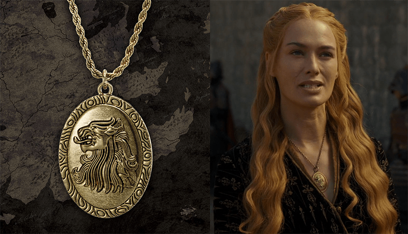 Cersei Lannister lion noble collection