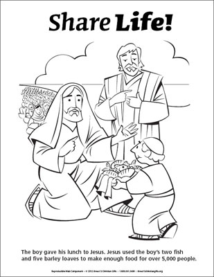 Help Feed Poor Coloring Page Coloring Pages