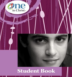 One in Christ - Grade 7 Student Book [ 2000 x 1540 Pixel ]