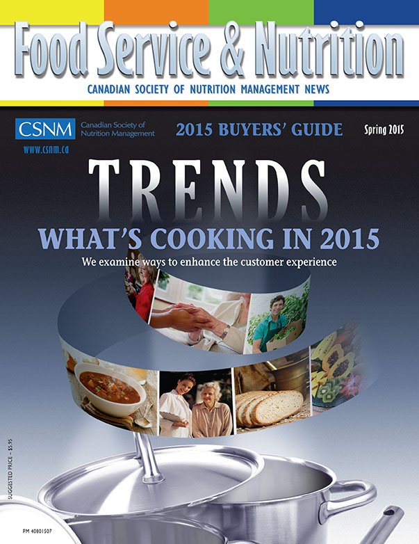Canadian Society of Nutrition Management CSNM CSNM Magazine