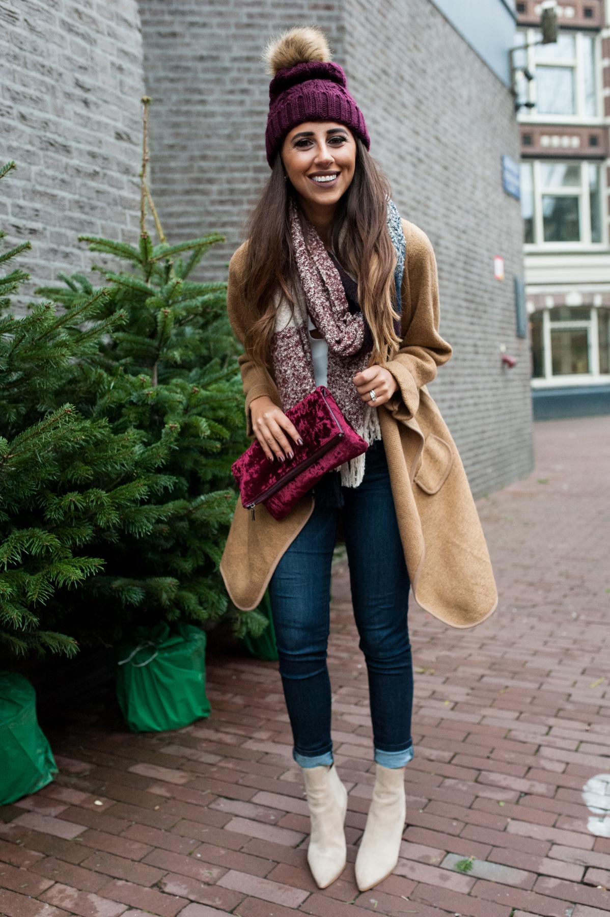 Winter Look In Amsterdam