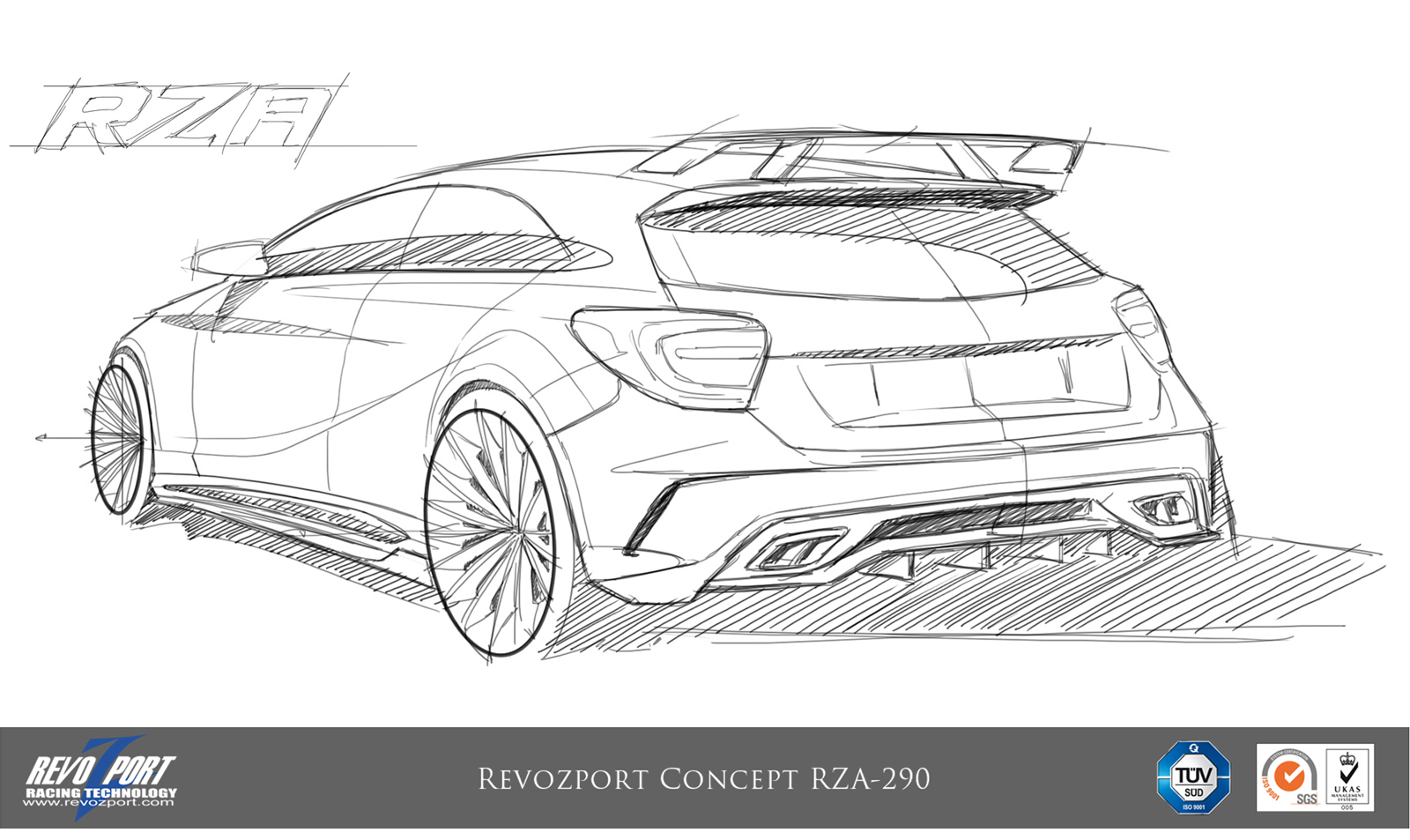 RevoZport Introduces Tuning Package for the Mercedes A