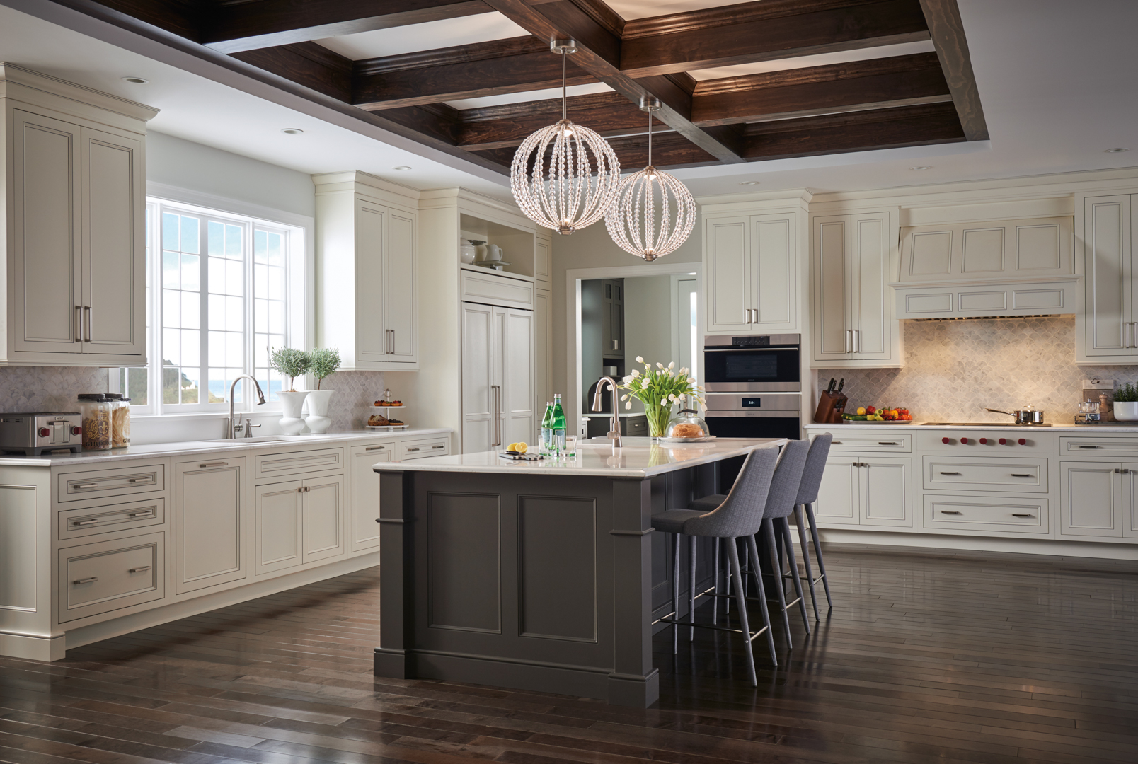 Contemporary Kitchen Design With Wolf Hoods
