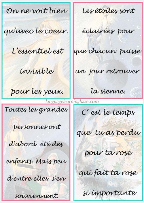 Citations Le Petit Prince : citations, petit, prince, Citations, Inspirantes, Petit, Prince, D'Antoine, Saint-Exupéry, Learn, French,francais,citations,petit,prince