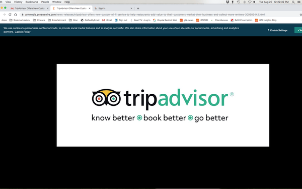 tripadvisor wifi add on