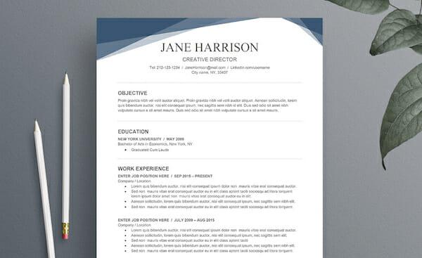 free sample watermark picture word resume