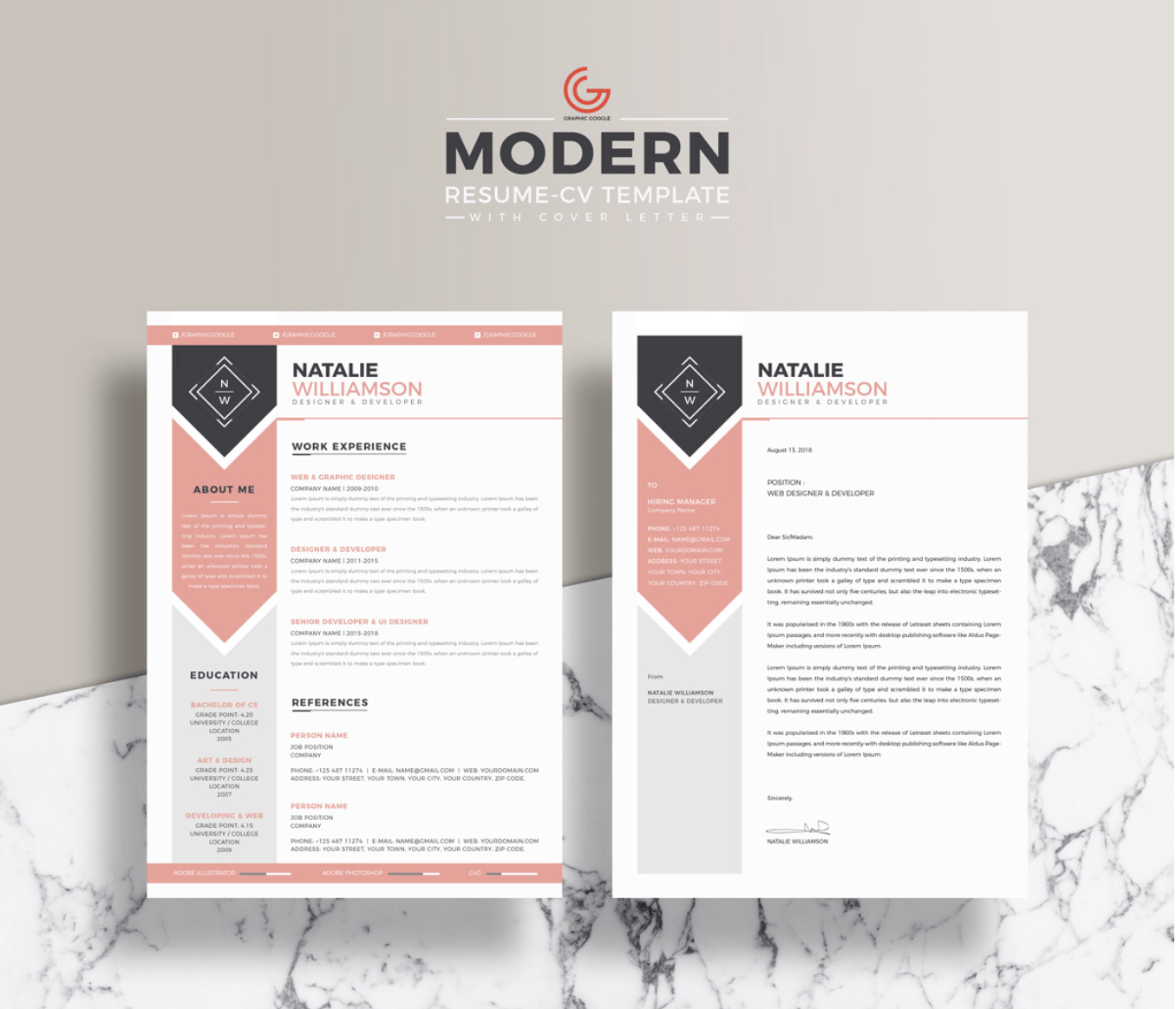 Cute Resume Templates Tutore
