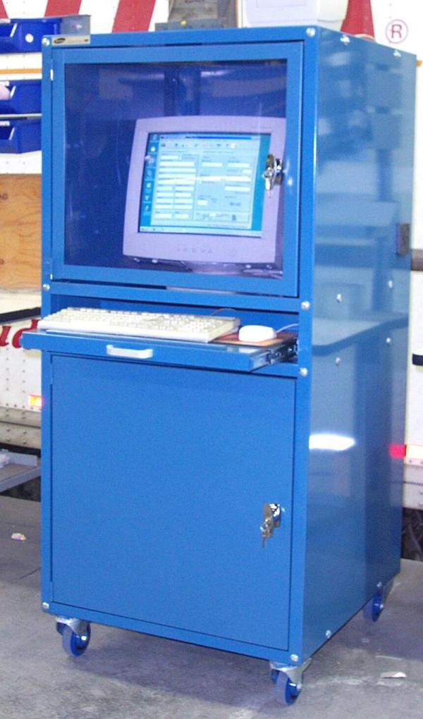 Enclosed Computer Cabinets Industrial