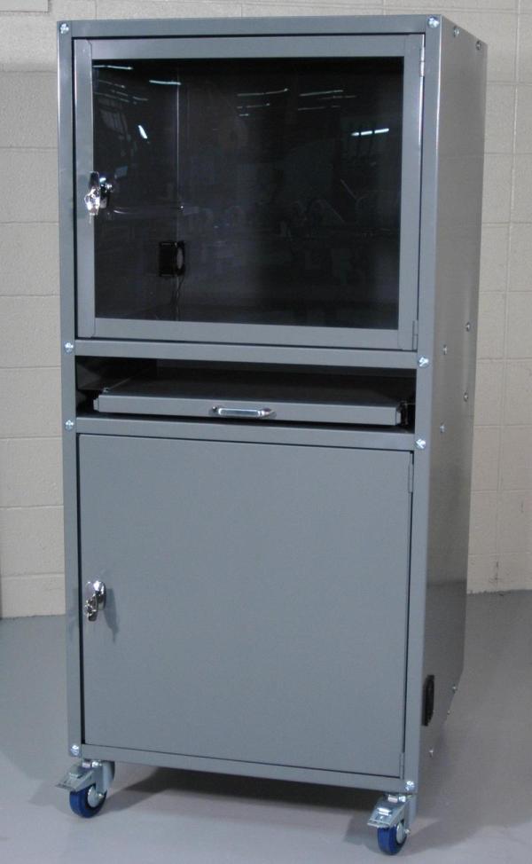Enclosed Computer Cabinet