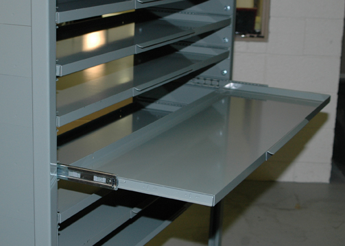 Stackbin  Custom Projects  PullOut Shelf Unit