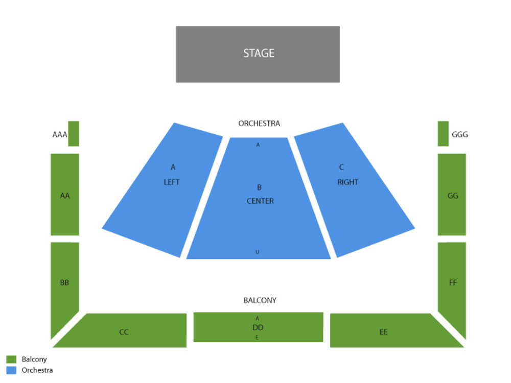 Luther burbank center for the arts seating chart also brian wilson at santa rosa ca rh teamonetickets