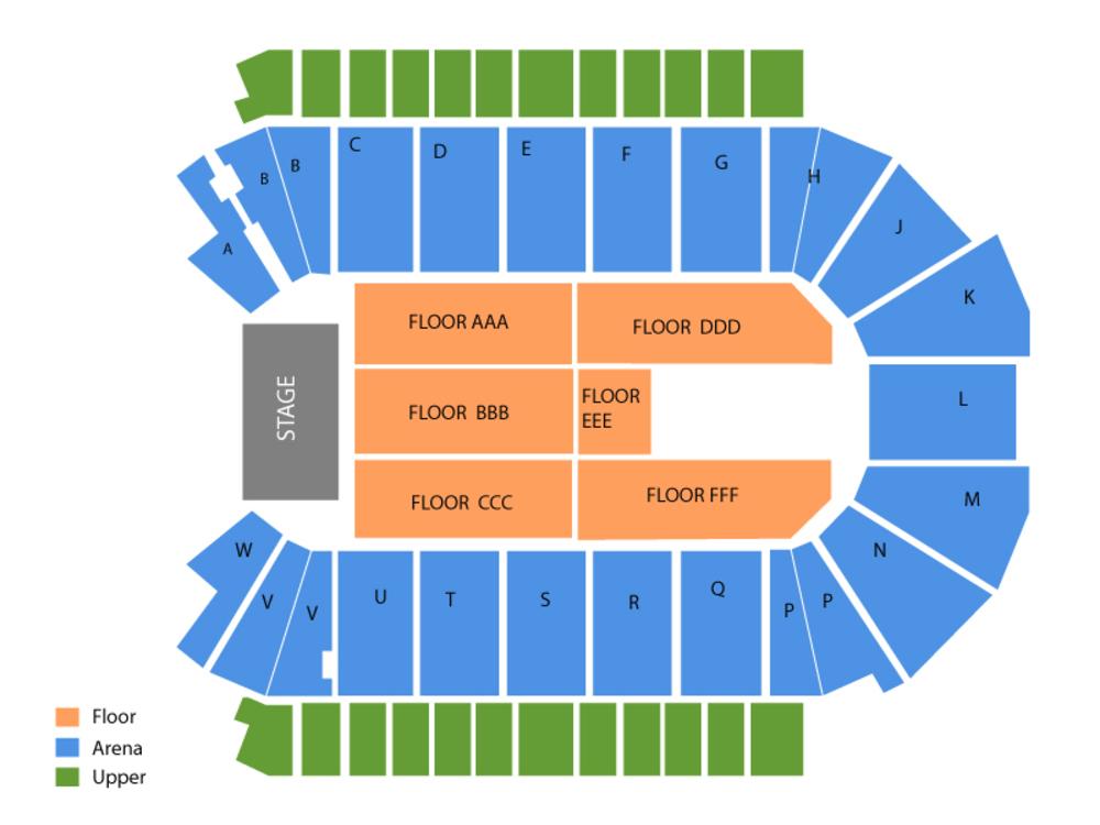 Budweiser events center seating map and tickets also chart cheap asap rh cheapticketsasap