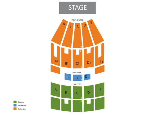 Indiana university auditorium seating chart also  events in bloomington rh goldcoasttickets