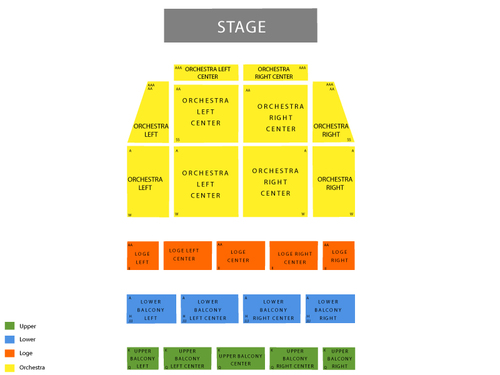tower theater seating chart los angeles. Black Bedroom Furniture Sets. Home Design Ideas
