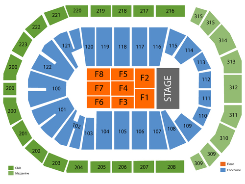 Infinite energy arena seating chart also  events in duluth ga rh goldcoasttickets
