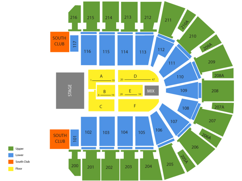 wireless center seating chart also and tickets formerly rh teamonetickets