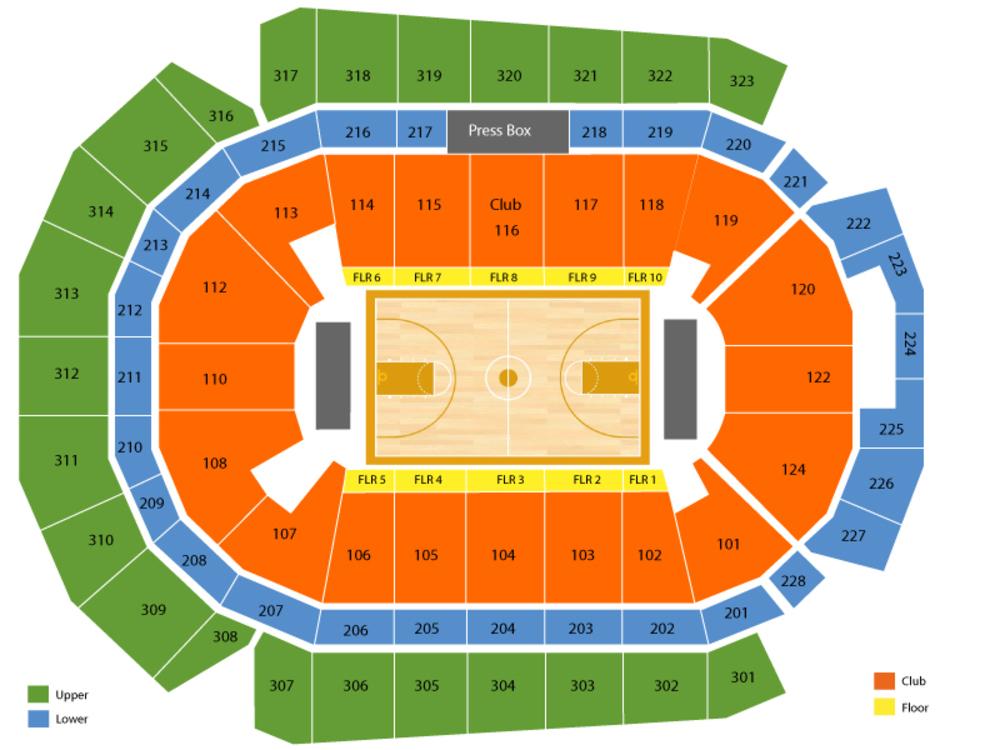 Ncaa men   basketball des moines session venue map also live at wells fargo rh premiumtickets