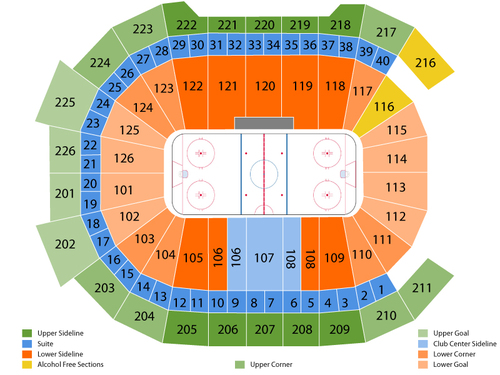 Giant center seating chart also  events in hershey pa rh goldcoasttickets