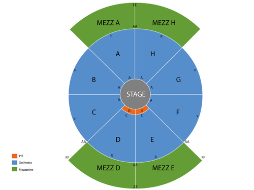 NYCB Theatre At Westbury Seating Chart Amp Events In