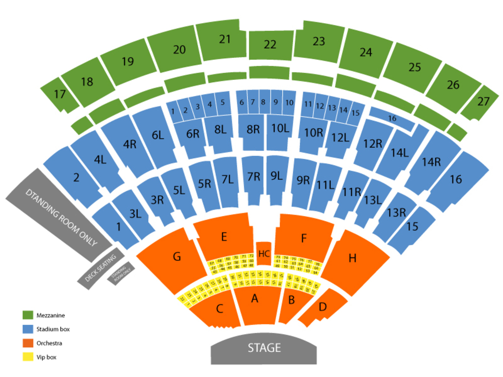 Nikon at jones beach theater seating chart also and tickets formerly rh teamonetickets