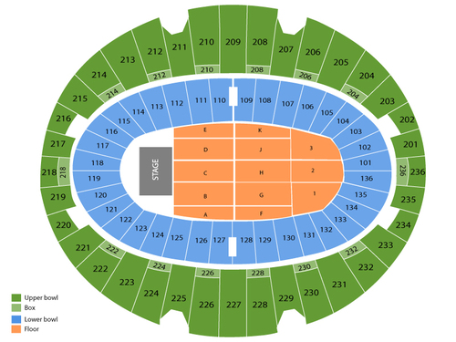 The forum seating chart also  events in inglewood ca rh goldcoasttickets