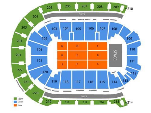 Ford center evansville seating chart also  events in rh goldcoasttickets