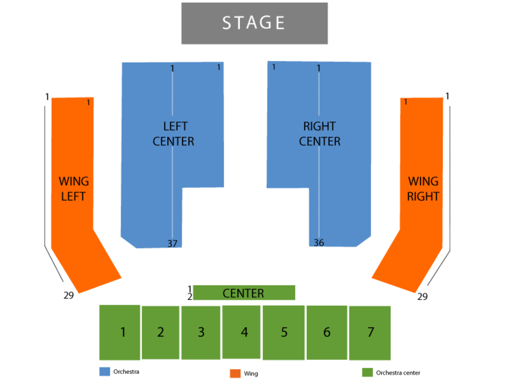 Sands bethlehem event center seating chart also cirque dreams holidaze at rh teamonetickets