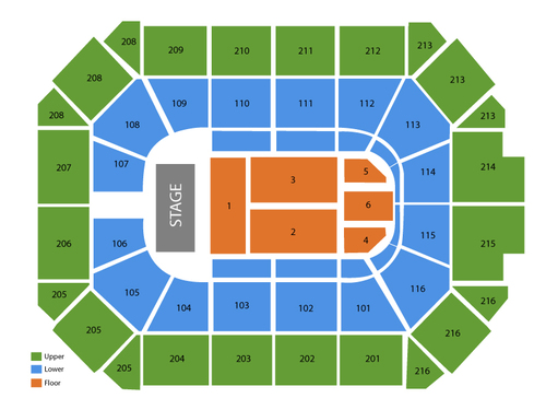 Allstate arena seating chart also  events in rosemont il rh goldcoasttickets