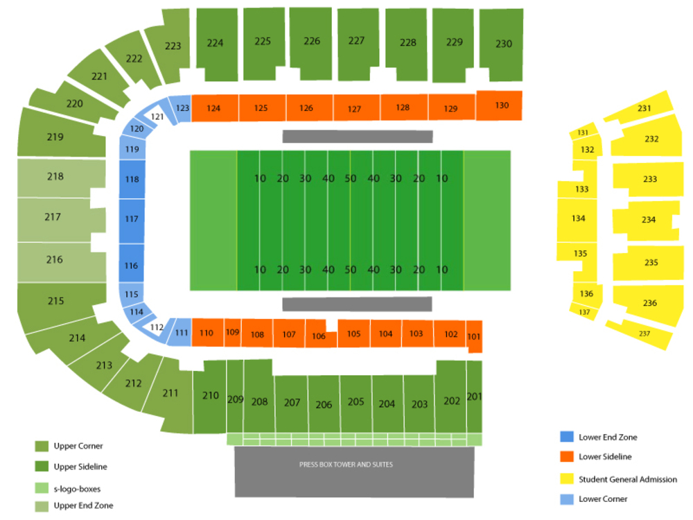 Geo group stadium fau seating chart also western kentucky hilltoppers at florida atlantic owls football rh teamonetickets