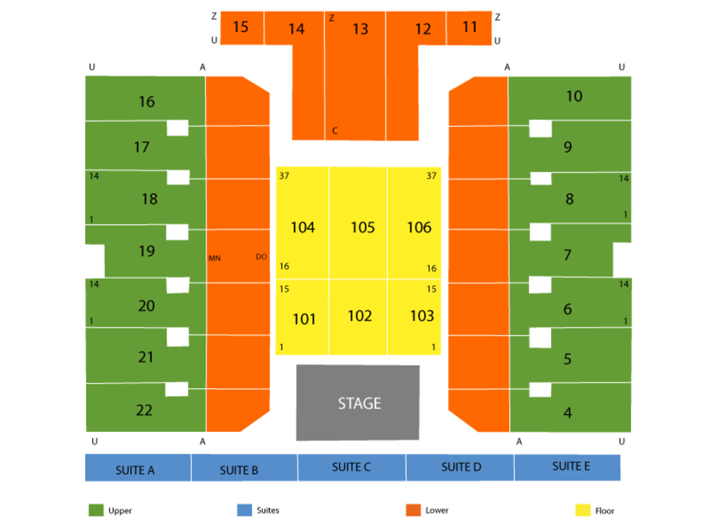 Erie insurance arena seating chart also and tickets formerly tullio rh teamonetickets