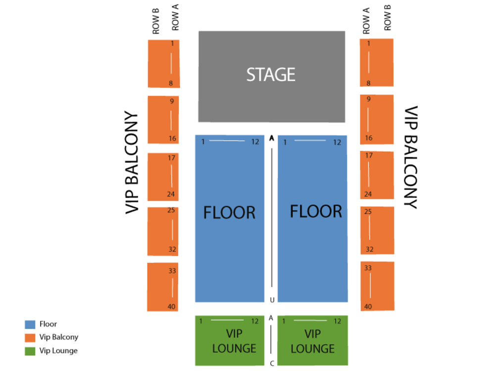 Rave eagles ballroom seating chart also neck deep at milwaukee wi october rh teamonetickets