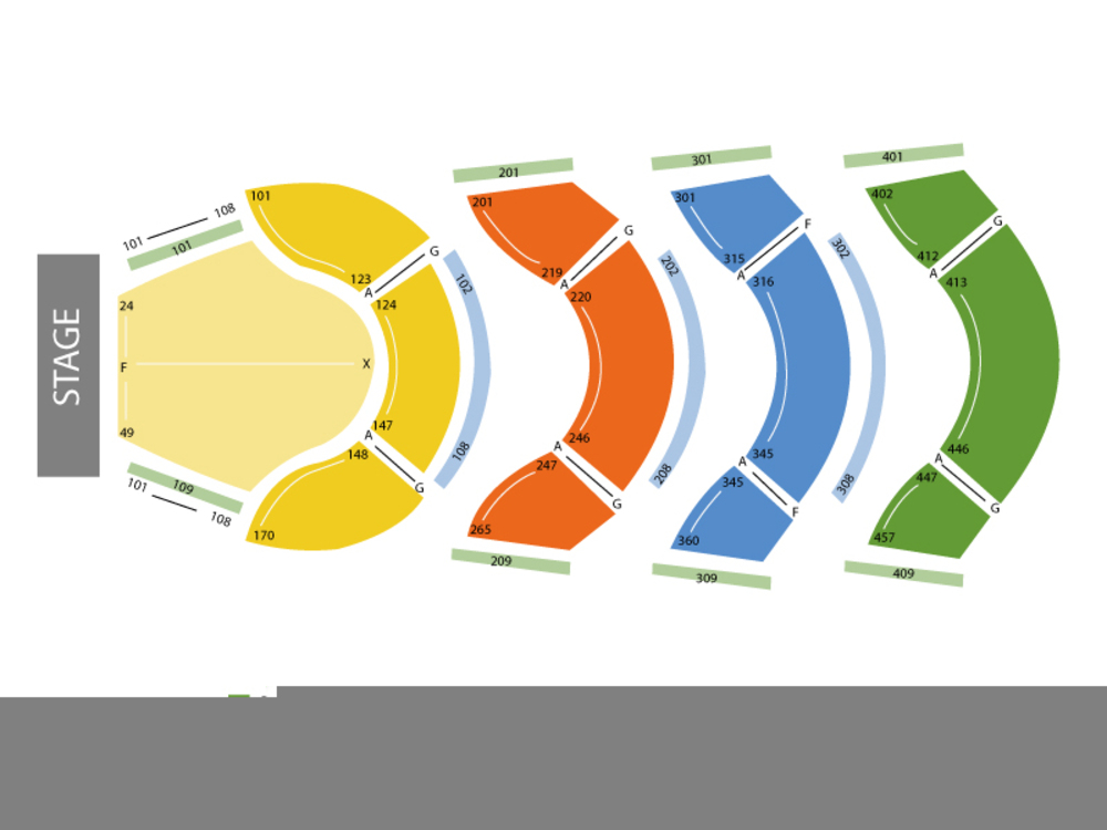 Ellie caulkins opera house seating chart also the book of mormon at denver co june rh teamonetickets