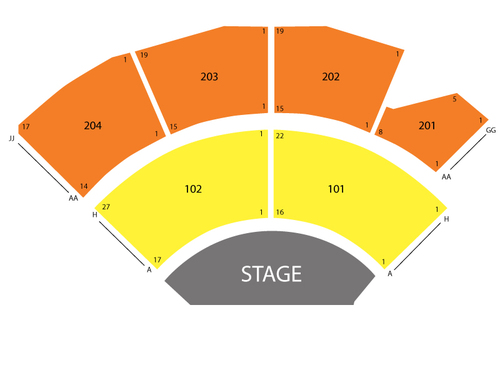 Jabbawockeez theater mgm grand seating chart also at las vegas nv rh teamonetickets