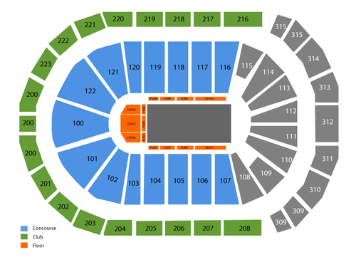 Disney on ice years of magic also infinite energy arena seating chart  events in duluth ga rh goldcoasttickets