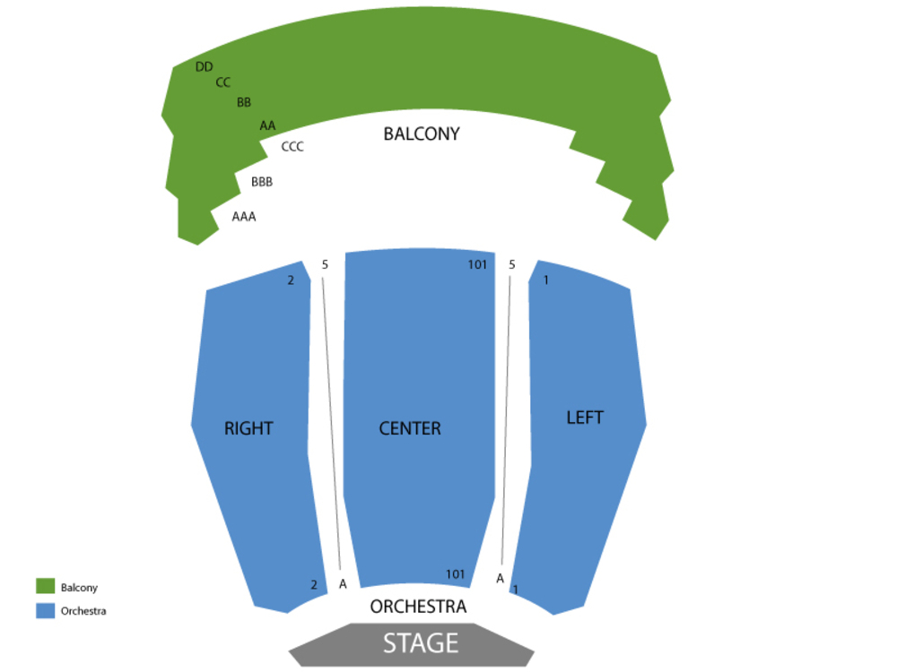 Irvine barclay theatre seating chart also and tickets rh teamonetickets
