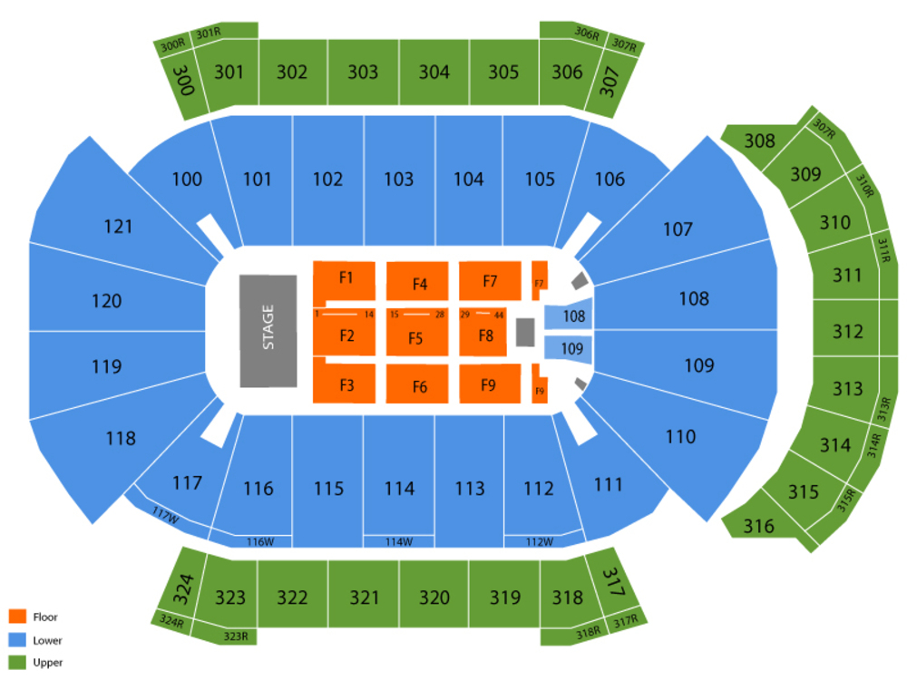 Jacksonville veterans memorial arena seating chart also pink at fl rh teamonetickets