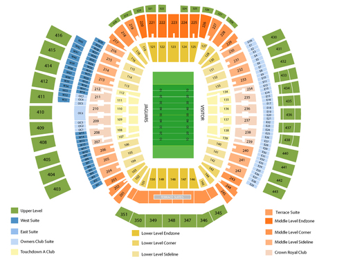 Monster jam also tiaa bank field formerly everbank seating chart  events in rh goldcoasttickets