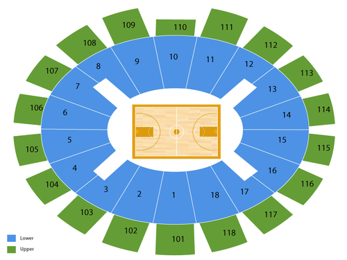 Notre dame fighting irish basketball also purcell pavilion at the joyce center seating chart  events in rh goldcoasttickets