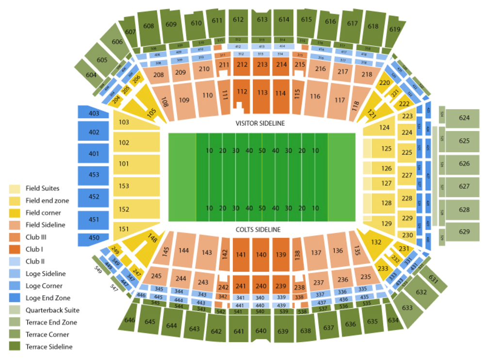 Lucas oil stadium seating chart also tampa bay rowdies at indy eleven indianapolis rh teamonetickets