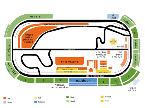 Indianapolis motor speedway seating chart also  events in rh goldcoasttickets