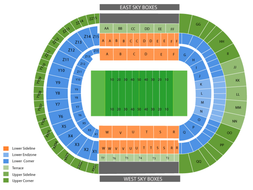 Neyland stadium seating map and tickets also chart cheap asap rh cheapticketsasap